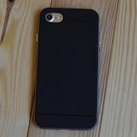 Защитный чехол Neo Hybrid Carbon Gunmetal Серый для iPhone 7