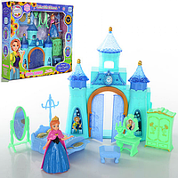 Игрушечный Замок принцессы Frozen SG-2999AB, замок для кукол Холодное сердце 2999