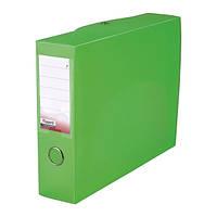 Папка-коробка Axent, сборная, 55 мм, прозрачная