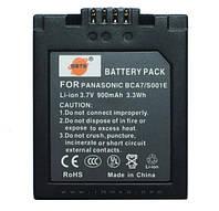 Аккумулятор для фотоаппарата Panasonic CGA-S001, 900 mAh.