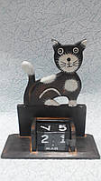 Вечный календарь Кошка размер 18*16*6
