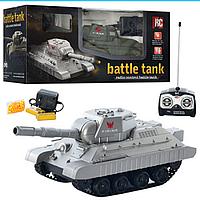 Детский Аккумуляторный Танк 3886 A стреляет пульками, Танк 3886 с пультом управления