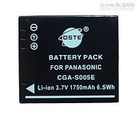 Аккумулятор для фотоаппарата Panasonic CGA-S005, 1750 mAh.