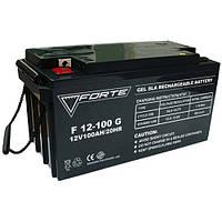 Гелиевый аккумулятор FORTE F12-100G