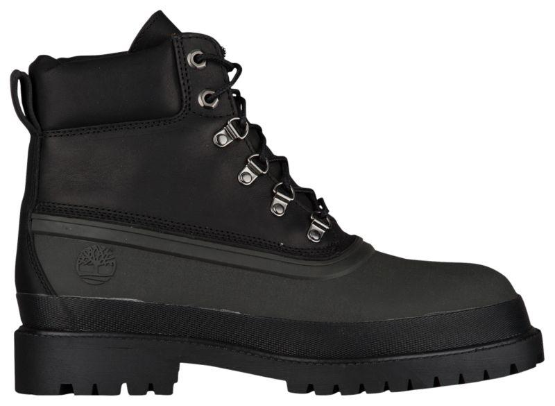 Ботинки Сапоги (Оригинал) Timberland Rubber Toe Winter Boots Black - TopUSA