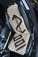 Деревянная накидка массажная на автокресло НД004 , фото 1