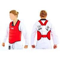 Защита корпуса детская(4-18 лет) для карате EVERLAST EV-3951-R красная
