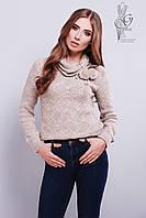 Вязаные женские свитера Таня из шерсти и акрила
