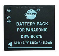 Аккумулятор для фотоаппарата Panasonic DMW-BCK7, 1350 mAh.