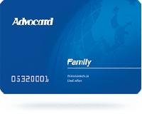 Адвокард — Карта «Семейная»