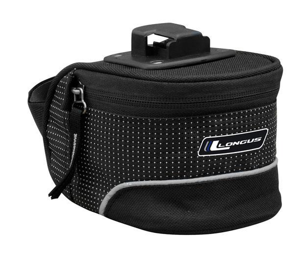 Підсідельна сумка CARIE QR 1,0 L засувка, черн