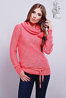 Вязаные женские свитера Таня-3 из шерсти и акрила