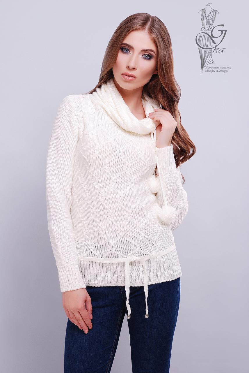 вязаные женские свитера таня 4 из шерсти и акрила продажа цена в