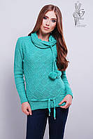 Вязаные женские свитера Таня-5 из шерсти и акрила