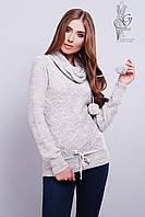 Вязаные женские свитера Таня-6 из шерсти и акрила