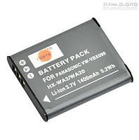 Аккумулятор для фотоаппарата Panasonic DMW-VBX090, 1400 mAh.