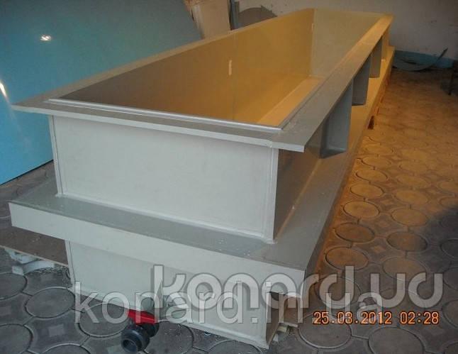 Гальваннические ванны из полипропилена