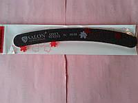 Пилка бумеранг черная Salon 80/80
