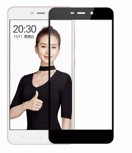 Стекло защитное Xiaomi Redmi 4A 3 3s 3x 3D с окантовкой