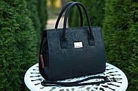 Женская кожаная сумка Izabel'  цвет Черный