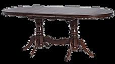 Стіл кухонний дерев'яний Каспій RoomerIN ,колір горіх, фото 2