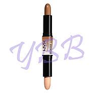 Двойной карандаш для контурирования NYX Professional Makeup WS02 Medium/Tan