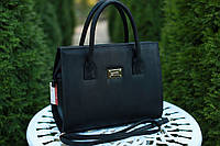 Женская кожаная сумка Izabel' 1 цвет Черный