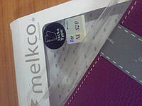 Флип чехол Melkco Jacka leather case for Nokia Lumia 820, purple (NKLU82LCJT1PELC)