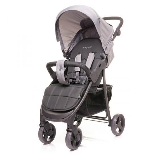Прогулочная коляска 4baby Rapid Темно-серый