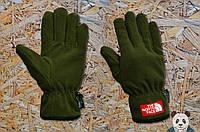 Зимние флисовые перчатки The North Face