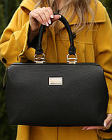Женская кожаная  сумка Irma цвет Черный