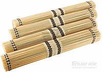 """Набор подставок под горячее из бамбука (4 шт.) """"Helfer"""" 95-110-021"""