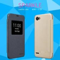 Кожаный чехол (книжка) Nillkin Sparkle Series для LG Q6 / Q6a / Q6 Prime M700