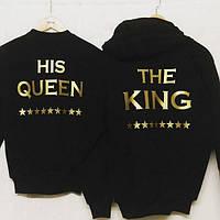 Парный комплект свитшотов King & Queen (теплый)