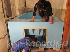 Изготовление купелей на объекте заказчика, фото 3