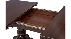 Стіл кухонний дерев'яний Каспій RoomerIN ,колір горіх, фото 3
