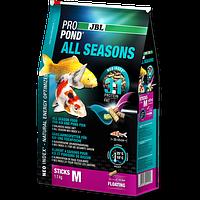 JBL ProPond All Seasons M 7,5 кг-корм для ля кои и прудовых рыб среднего размера всезезонная (4125900)