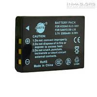 Аккумулятор для фотоаппарата Sanyo DB-L50, 2300 mAh.