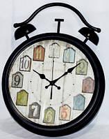 """Часы настенные """"Будильник"""" металлические"""