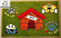 Жаккардовый коврик в прихожую Дом 80*50 см