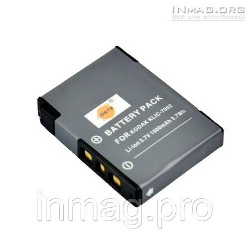 Аккумулятор для фотоаппарата Kodak KLIC-7002, 1000 mAh.