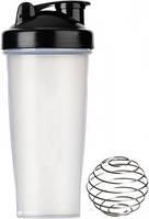 Шейкер Shake Bottle 700 мл (с шариком) Power System