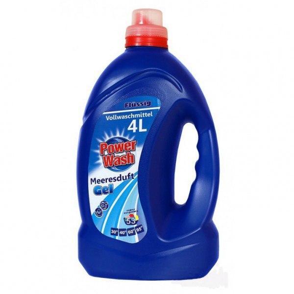 Гель для стирки Power Wash Универсальный 4 литра 53 стирки