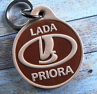 Брелок Lada Priora Лада Приора сувенир на ключи авто