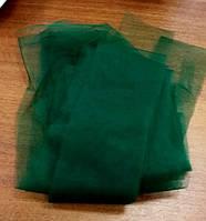 Евросетка (фатин) № 420 цвет - темно-зеленый