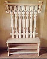 Комплект мебели в прихожую (вешалка для одежды и тумба для обуви)