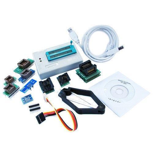 USB програматор MiniPro TL866A + адаптери 10 в 1