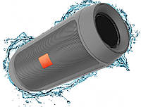 Портативная bluetooth колонка MP3 плеер E2 CHARGE2+ Silver