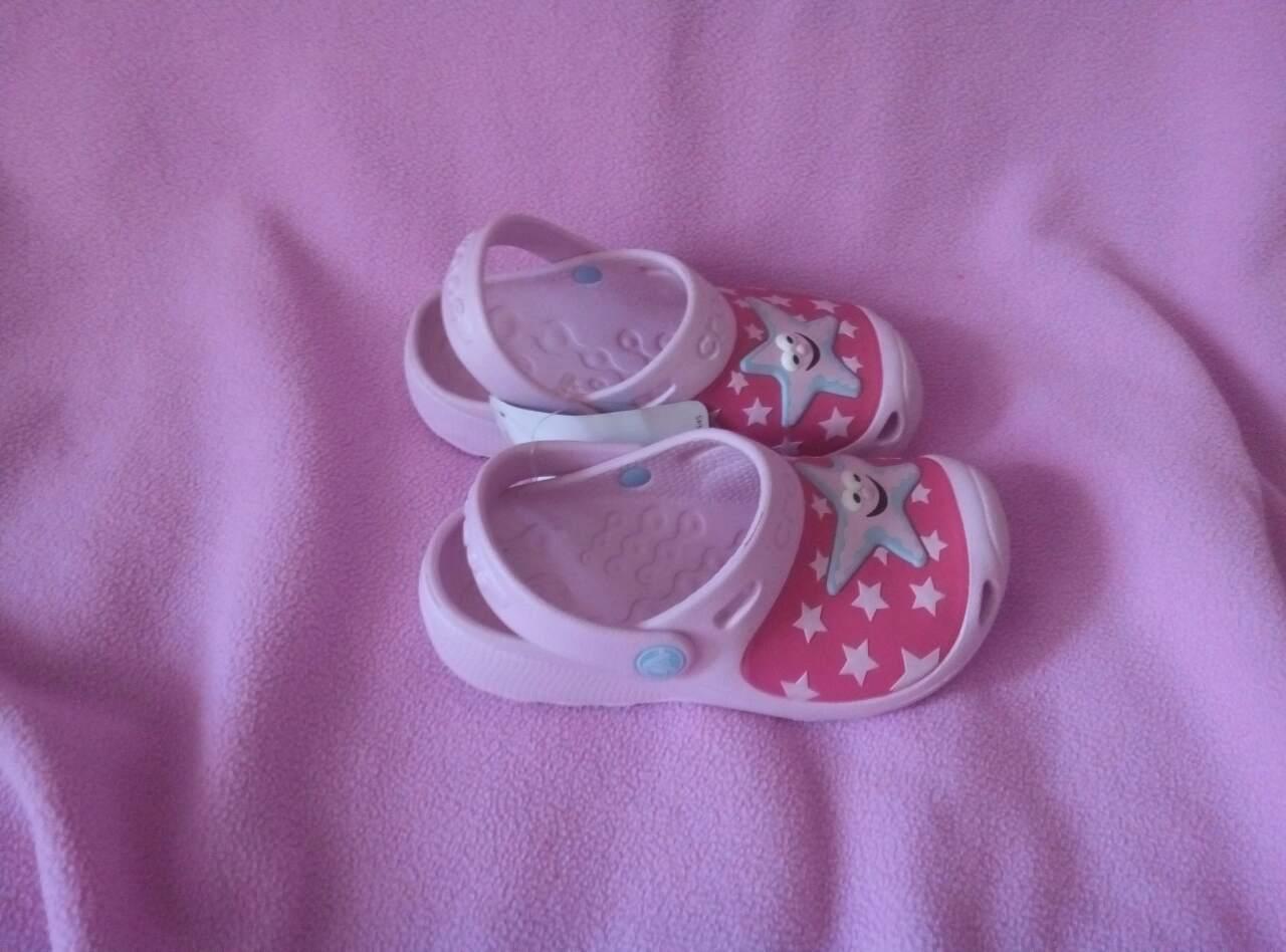 Детски шлепанцы кроксы crocs