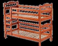 Кровать двухъярусная-трансформер из массива ольхи  Ника  Room
